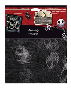 Amazon.com: Disney The Nightmare Before Christmas Jack Skellington Cheesecloth: Toys & Games