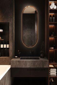 Washroom Design, Toilet Design, Bathroom Design Luxury, Modern Bathroom Design, Wc Design, Design Ideas, Interior Design Games, Black Interior Design, Interior Design Kitchen