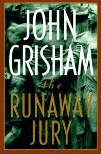 Runaway Jury by John Grisham- The book is as good as the movie if not better. Well written and with an excellent view into the judicial system.
