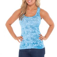 Burnout Scoop Neck Tank - Fun Fashions for Mom - Events