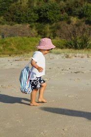 Fazer uma Mochila de Praia para Criança :: Make a Toddler