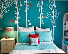 Teal And White Bedroom Prepossessing 15 Fantastic Bedrooms For Chic Teen Girls  Pure White Bedrooms Decorating Design