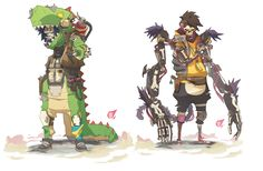 i Guys!  Ok, this is the first lineup of characters for the Game. DeliveryWild Squad. Delivery guys who are running in the illegal race league of the unvierse FURY BEATS! You have the description the project in Patreon :)  From left to right: Igor, Tea Wrecks , Lily SLash, Trebble Slash and Daisy Slash  So, if you like the game project, you can support the concept art I am doing for it in PATREON  PATREON www.patreon.com/SergiBrosa?ty=…  GUMROAD gumroad.com/sergibrosa  FACEBOOK…