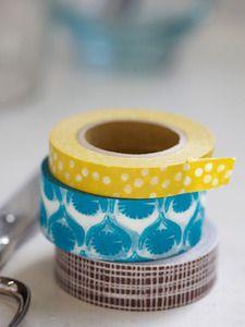 incredible washi tape from lotta jansdotter!