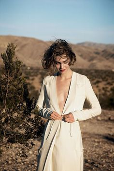 Arizona Muse in 'Manifest Destiny', Vogue US, February 2011 | photography by Peter Lindbergh, styling by Tonne Goodman