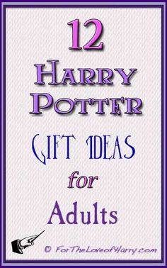 Here are 12 great Harry Potter gifts for adults! You are sure to find the right present for Christmas, birthdays, or any other occasion. #harrypotter #christmas #gift http://fortheloveofharry.com/harry-potter-gifts-for-adults/