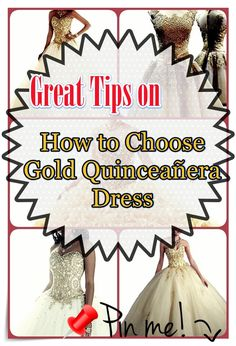 Find the right Gold quinceanera dresses in your area! Uncover Gold quinceanera dresses as well as where to get them!