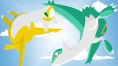 Pokemon Latias, Latios And Latias, Hd Wallpaper, Wallpapers, Pikachu, Illustration Art, Display, Fictional Characters, Image