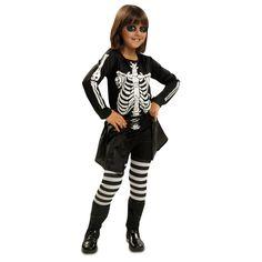 Disfraz de Niña Esqueleto #disfraces #halloween