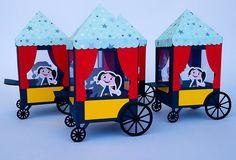 Este lindo carrinho de pipoca do Show da Luna dá um show. É uma ótima opção para lembrancinha da sua festinha no tema de O Show da Luna.