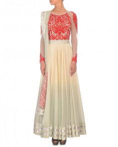 Feminine Style to Flow Down the Red Carpet #MetGala #MetBall #MetGala2014 #MetBall2014 #Fashion #Luxury #Vogue #IndianDesigner #BallGown #Gown #ExclusivelyIn