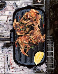 Rose Gray and Ruth Rogers's Recipe for Flattened Quail