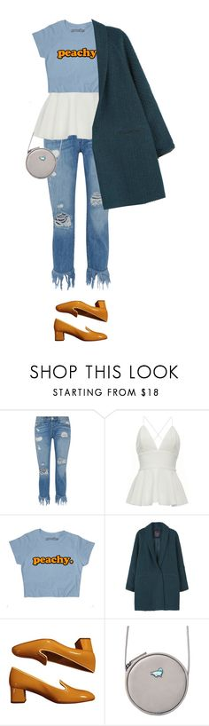 """""""coat"""" by faye-valentine ❤ liked on Polyvore featuring 3x1, MANGO and Prada"""