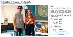 """Mit dem Modell Armida von MYKITA liegt Lehrerin Elisabeth """"Lisi"""" Schnabelstedt alias Karoline Herfurth voll im Trend. Die großen Gläser unterstreichen den angesagten Nerd-Look und verleihen der jungen Pädagogin ein intellektuelles Äußeres. Da kann man nur hoffen, dass der Schein nicht trügt."""