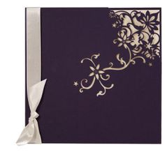 laser cut invitation - I'm not suggesting, I just think these kind of things are so pretty!