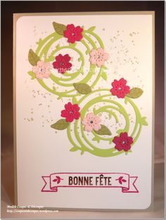CoupesEtDecoupes - Stampin'Up Independant Demonstrator Paris (France) - Blog Hop Poulettes May 2016 - Spring Mother's Day - Stampin'Up