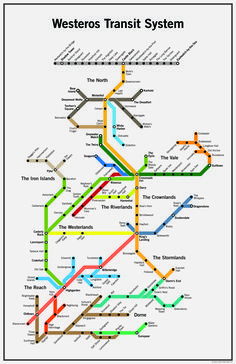 The Seven Kingdoms Have A Surprisingly Solid Mass Transit System