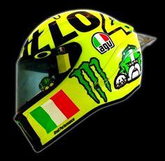 "thejiltedrat: "" AGV Pista GP Mugiallo Rossi 2016 """