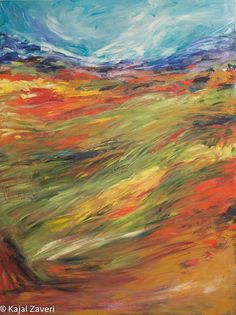 Colors Of Summer New Oversized 36 x 48' Oil