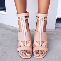 natural sandals #ninewest