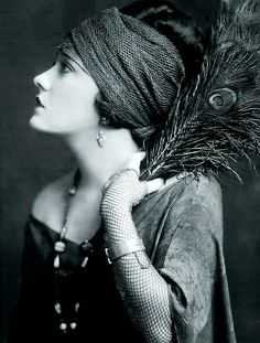 Gloria Swanson, 1922 photograph by Alfred Cheney Johnson. She was an american actress, singer and producer. She was born Gloria May Josephine Svensson (1899-1983). Her father was Swedish-American.