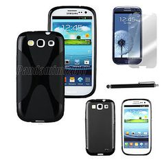 For Samsung Galaxy S3 i9300 TPU Skin Gel Cover Case Protector/Stylus Pen  FLASH SALE,buy one get one free.cheapest