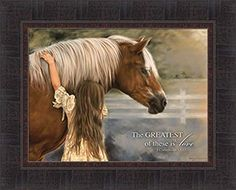 Tangletown Fine Art 'The Greatest' by Lesley Harrison Graphic Art on Wrapped Canvas Merida, Framed Art Prints, Poster Prints, Wall Decor Pictures, Gif Animé, Horse Girl, Horse Photography, Girls In Love, Find Art