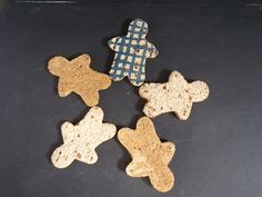 Maeve's own ceramic mix ginger bread men