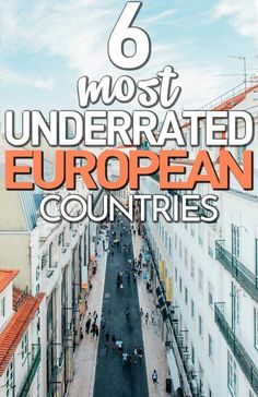 6 Underrated European Travel Destinations - Here are 6 of the most underrated European countries to visit next time you travel. Skip the usual - Travel Jobs, Ways To Travel, Best Places To Travel, Budget Travel, Travel Ideas, Travel Info, Free Travel, Travel Advice, Travel Quotes