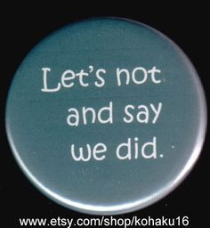 Will That Work Button by kohaku16 on Etsy, $3.00