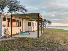 Oceanfront dog-friendly home w/ sunset views of Sarasota Bay - snowbirds welcome - Indian Beach Sapphire Shores Yard Service, Sarasota Bay, Florida Home, Great View, Dog Friends, Gazebo, Outdoor Structures, House Styles, Homes