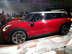 At BMW World #MINI Clubman Concept