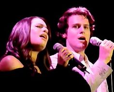 Lea Michele and Jonathan Groff Perform a Special Musical Mash-up ...