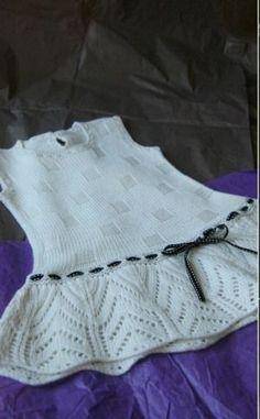 Kız Bebeklere Örgü Elbise Modelleri 121 - Mimuu.com