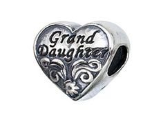 Zable Sterling Silver Granddaughter Pandora Compatible Bead  Charm ** Check out the image by visiting the link.