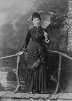 Photograph Miss Nelligan, Montreal, QC, 1880