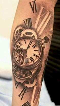Love this 3D clock piece