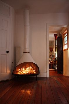 Vintage Preway fireplace white enamel finish by keithwilkins ($500-5000) - Svpply