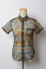 JUNYA WATANABE COMME des GARCONS Floral Blouse Multi Color One size AD1999