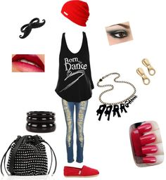 """Born 2 Dance"" by vashappeninnizzyd on Polyvore"