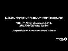 """""""TOP 10"""" Album of Awards 5.3.2016 AWARDING: Franco Sondrio"""