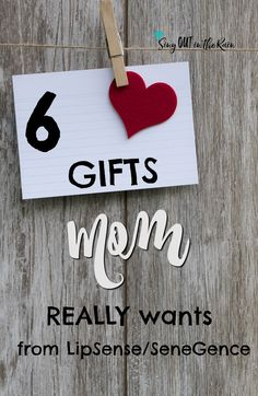 Finding gifts for mom who has everything can be tricky. Whether shopping for birthday, christmas, or mothers day - unique ideas to buy are hard to come by. This year get mom what she really wants - LipSense