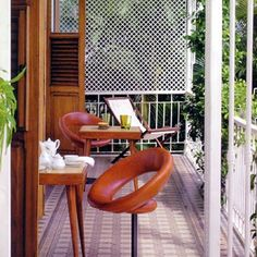 Mama Ruisa, Santa Teresa, Rio de Janeiro Hotel Reviews | i-escape.com, Anels Chairs by Ricard Fasanello #braziliandesign #design