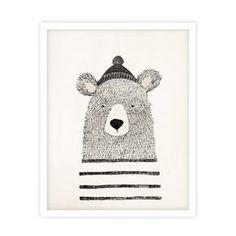 Winter Bear Print