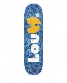 WOOD WU SPLASH BLUE 8.125