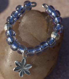 Silver Lined Beads - Ice Blue