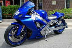 Blue Crotch Rocket by Chad Horwedel, via Flickr