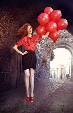 Levitation Photography (Miss Aniela)