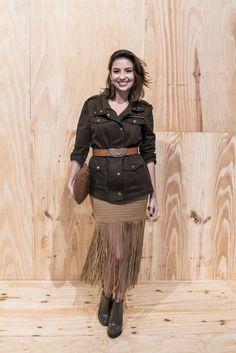 Van Duarte - Women´s Fashion Style Inspiring Outfit Look - Moda Feminina Estilo INspiração Franjas