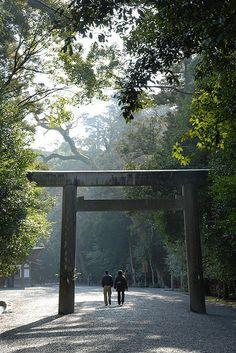 Ise Shrine, Japan: photo by BONGURI, via Flickr